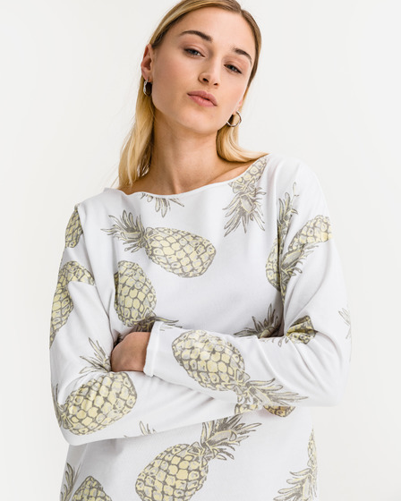 JUVIA Devoré Pineapple Sweatshirt