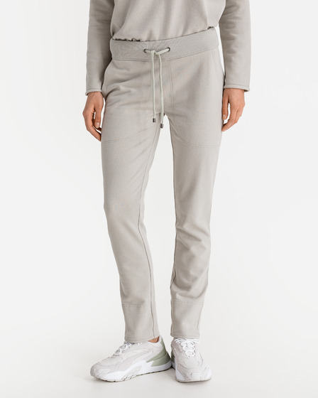 JUVIA Turn-Up Fleece Sweatpants