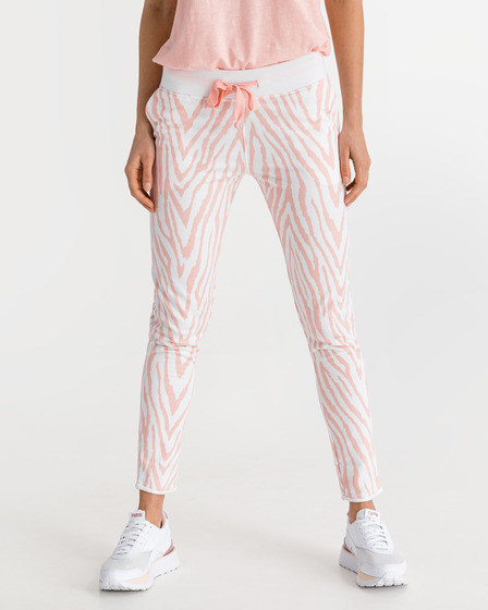 JUVIA Devoré Zebra Sweatpants