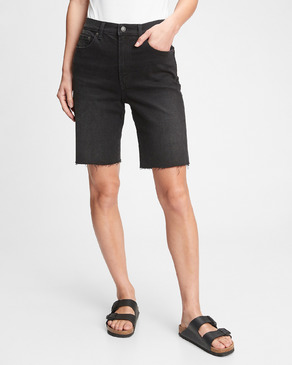 GAP 9'' High Rise Denim Bermuda Shorts