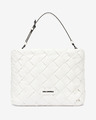Karl Lagerfeld Kushion Braid Tote Handbag