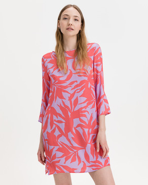JUVIA Abstract Leaves Dress